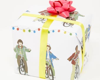 Central 23 Stranger Things Wrapping Paper, Gift Wrap x 3