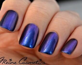 Bon Temps - Blue Red Purple Multichrome Color Shifting Nail Polish