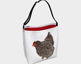 Neoprene chicken tote - Bawk Bawk