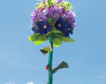 Topiary Tree, Flowering tree,  Home Decoration, Ornamental wood,  Decorative flowers