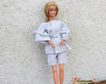 Pajamas for Barbie, handmade