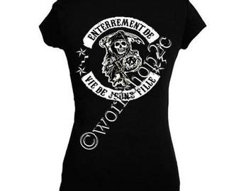 t-shirt black's sons of anarchy custom Bachelor bachelorette party bachelorette party
