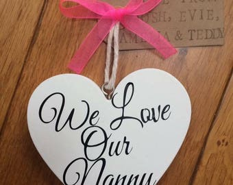 Mother's Day Personalised Hearts