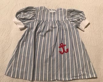 Little girls sailor dress