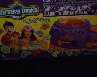The Incredible Shrinky Dinks Maker By Big Time Toys - #34848 2011 USA NEW