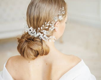 Bridal Hair Comb hair comb wedding hair comb hair accessories bridal headpiece bridal hair vine hair wedding headpiece wedding hair crystal