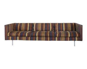 Milo Baughman for Directional Tuxedo Sofa