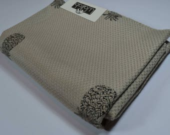 indoor outdoor fabric, pineapples, teflon coated fabric, fabric sample, designer fabric, cushion fabric