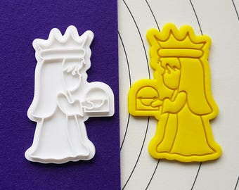 Magi offering Gold Cookie Cutter and Stamp