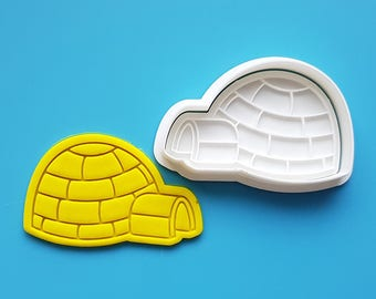 Igloo Cookie Cutter and Stamp