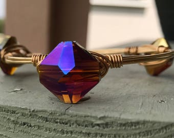 Geometric Prism Single Bangle