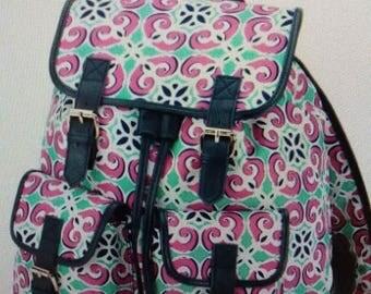 monogrammed backpack back only