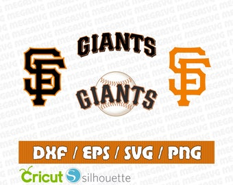 San Francisco Giants Svg Dxf Eps Png Cut File Pack