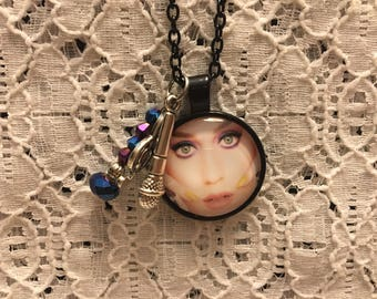 Katy Perry Charm Necklace/Katy Perry/Katy Perry Jewelry/Katy Perry Fan Gift/Katy Perry Pendant/Katy Perry Necklace