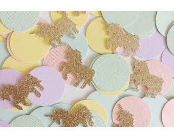 Unicorn Confetti, Unicorn Party Theme, Unicorn Birthday