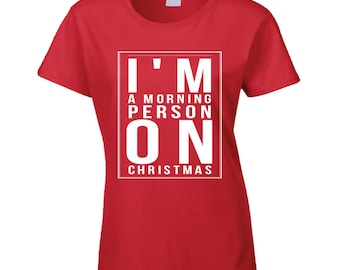Christmas Xmas Santa Claus Rudolph Woman Women T-shirt
