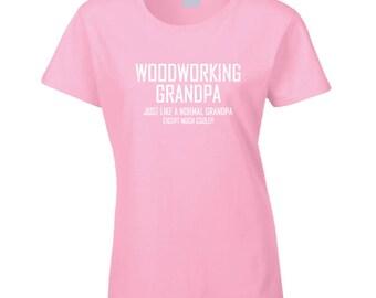 Woodworking Grandpa T Shirt