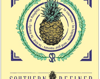Southern Refined Pineapple Tee