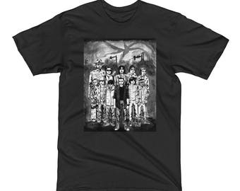 Stranger Things B&W unisex t-shirt