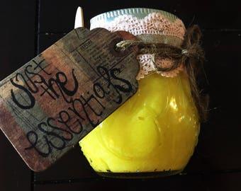 Organic Lemon Sugar Body Scrub