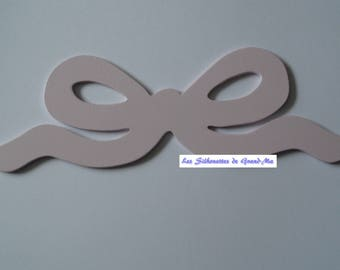 Bow, model 1, wooden wall decoration