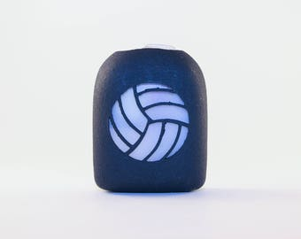 Clip-On Omnipod Pod Cover - Volleyball