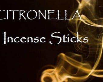 Incense Sticks: Citronella