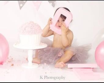 10 inch Pedestal Cake Stand Wedding Prop Cake Smash Custom Colour UK Seller