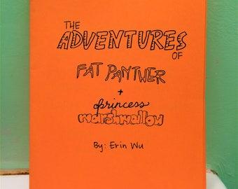 The Adventures of Fat Panther + Princess Marshmallow - a minicomic