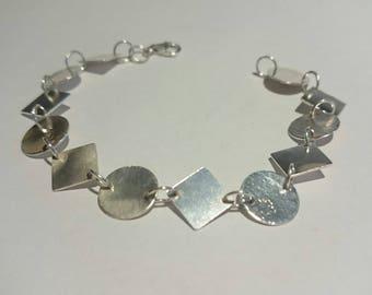 Bracelet Silver 950 Geometrica