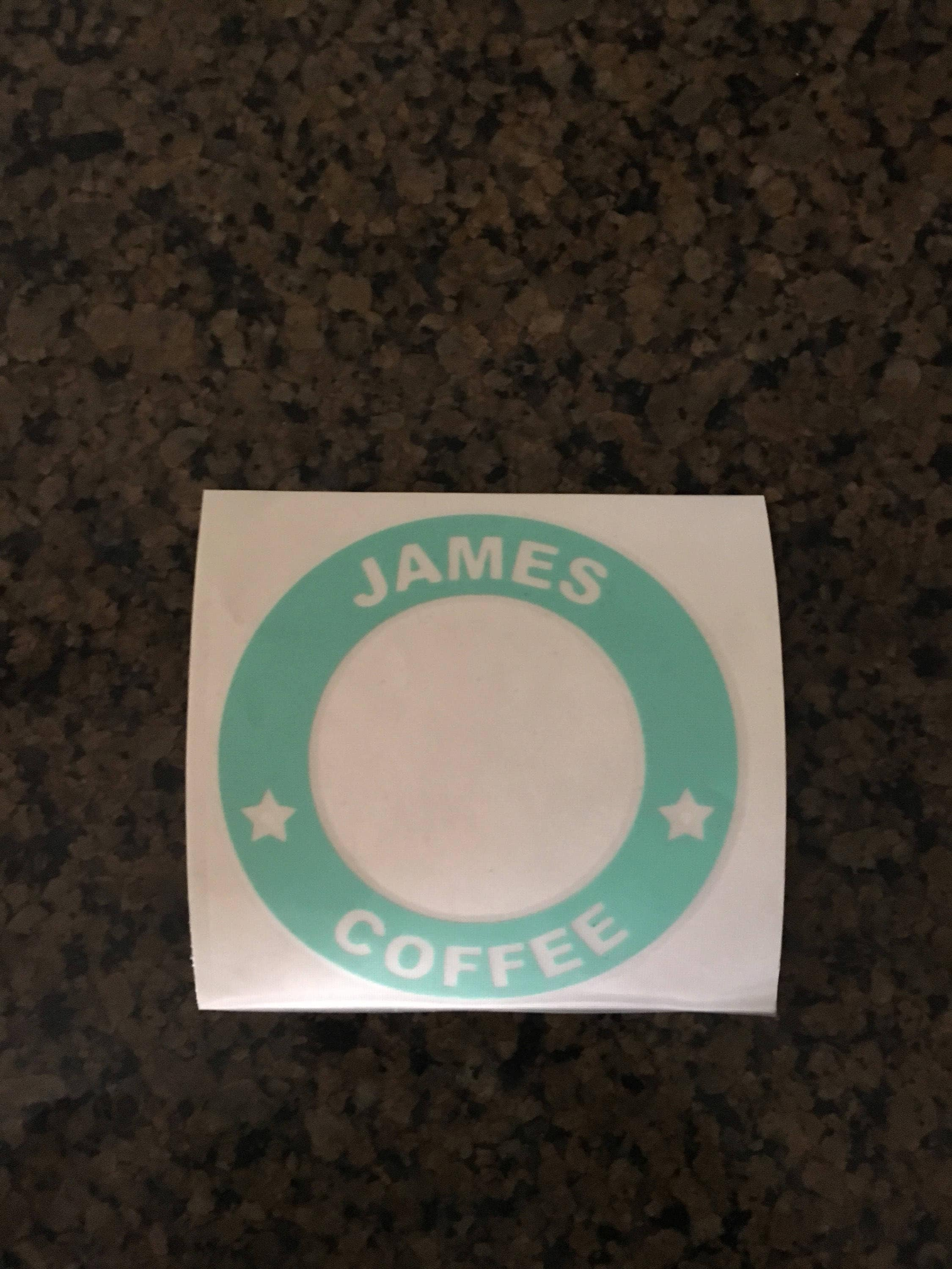 personalized stickers for plastic cups nangguk sticker