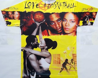 Love and Basketball sublimation T shirt