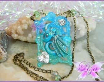 Dragon necklace / Dragon pendant