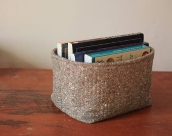 MEDIUM Quilted Nesting Basket