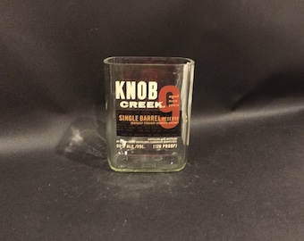 Jim Beam Knob Creek 9 Year Single Barrel  Bourbon Whiskey Soy Candle. Made To Order !!!!!!!