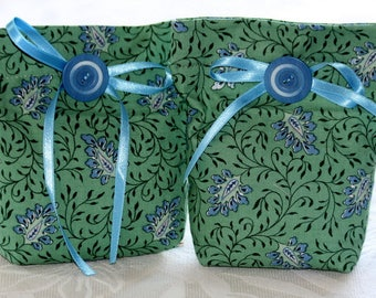 2 bags of lavender, green and blue, Sault France ref 10 Lavender flowers