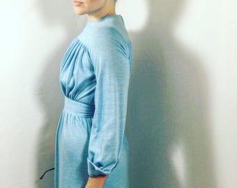 Vintage 1970's Goddess Dress sz 6