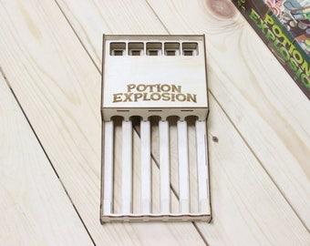 Potion explosion board game dispenser
