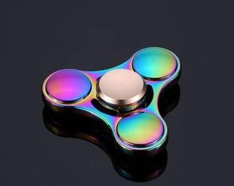 Rainbow Fidget Spinner High Speed