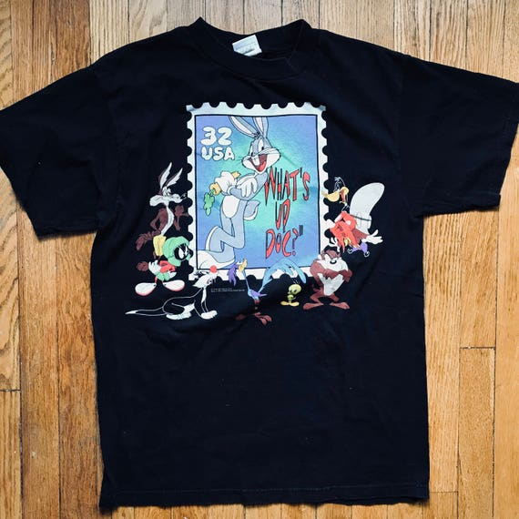 Vintage Looney Tunes Stamp T-Shirt | 1997