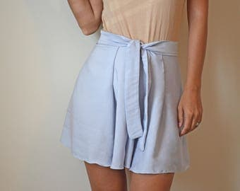 high waisted shorts / womens shorts / womens clothing / flowy shorts / high waisted flowy shorts / loose / skirt shorts /