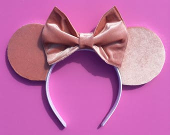 Velvet Rose Gold Ears