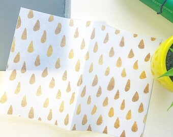 """Raindrops"""" Gold Edition: Vellum TN Covers/Dashboards"""