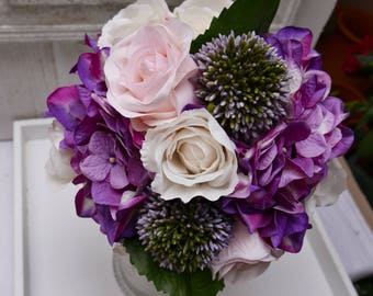 Bridal bouquet * rose & hydrangea * bouquet