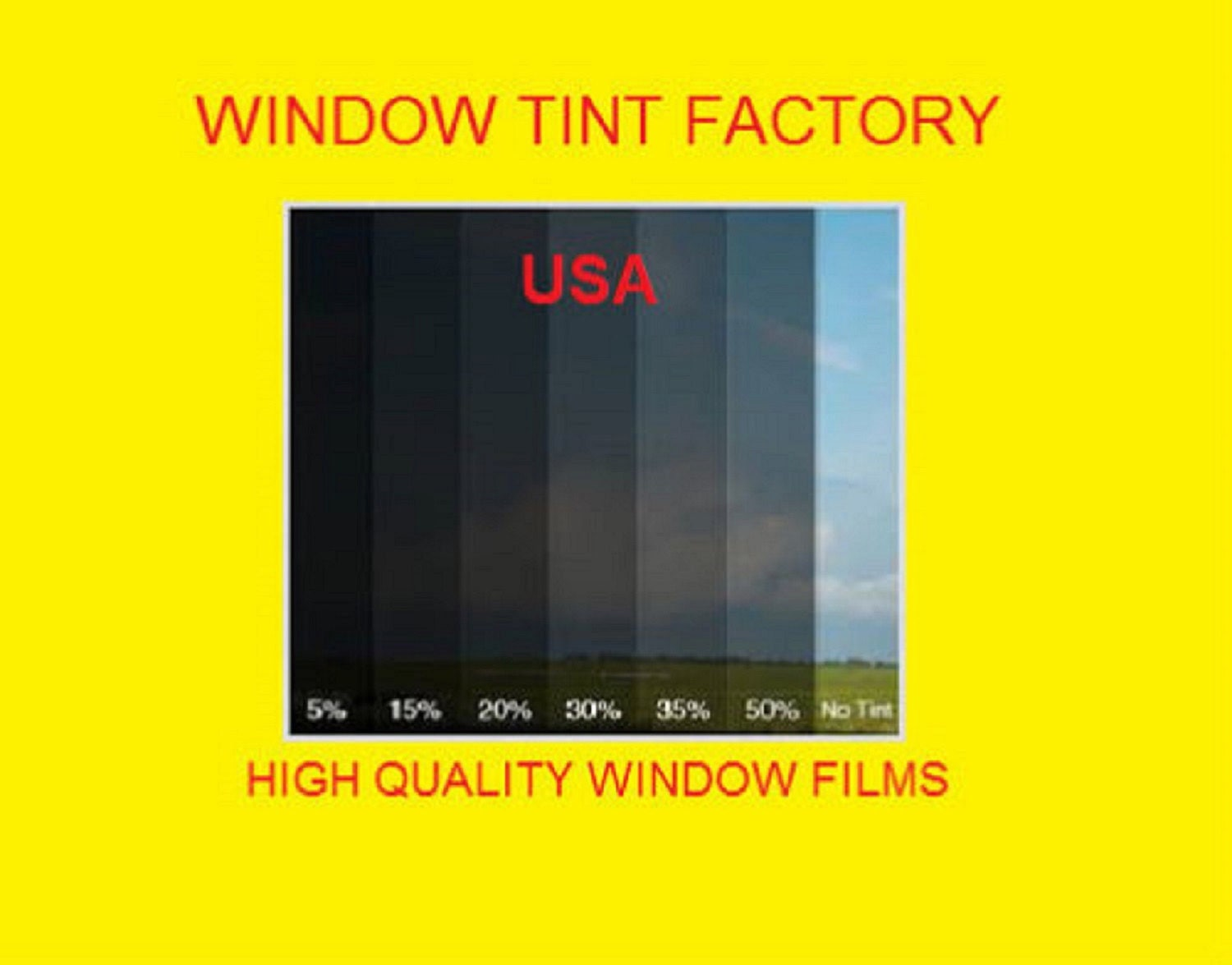 Professional Window Tint Film Uncut By The Roll Light 70