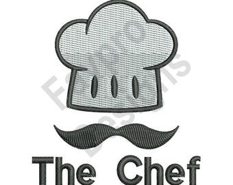 The Chef Hat - Machine Embroidery Design