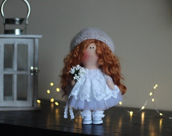 Baby dolls Art doll Decor doll Soft decor Handmade doll Fabric doll Tilda doll Textile doll Cloth doll Rag doll Interior rag doll Angel doll