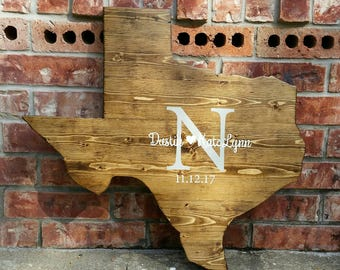 Rustic Texas Sign, Texas Guestbook Sign, Rustic Texas Sign, Texas State Wood Sign, State Wood Sign, Reclaimed Wood Sign, Texas Cutout
