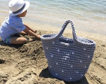 Handmade rope crochet bag | gift for her | summer bag | beach bag