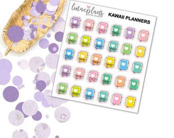 Kawaii Planners - Functional Planner Stickers Happy Planner Erin Condren